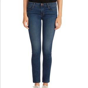J brand 811 skinny leg jeans in blue code